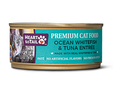 Heart to Tail Ocean Whitefish and Tuna Canned Cat Food