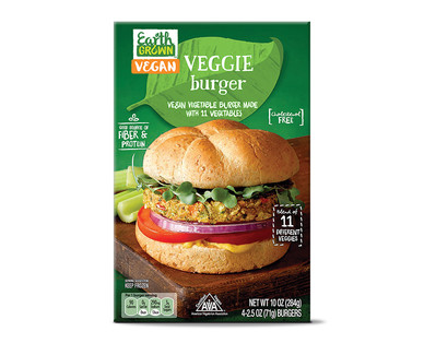 Earth Grown Veggie Burger
