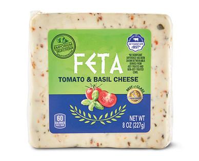 Emporium Selection Feta Tomato & Basil Cheese