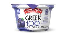 Friendly Farms Nonfat Blended Blueberry Yogurt