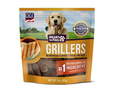 Heart to Tail Griller Dog Treats Chicken
