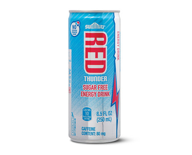 Summit Red Thunder Sugar Free Energy Drink Single Can