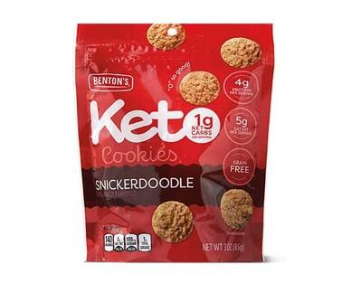 Benton's Snickerdoodle Keto Cookies