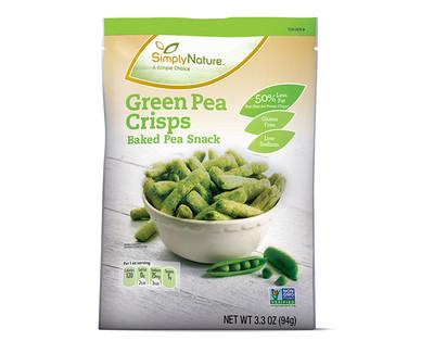 SimplyNature Organic Green Pea Crisps