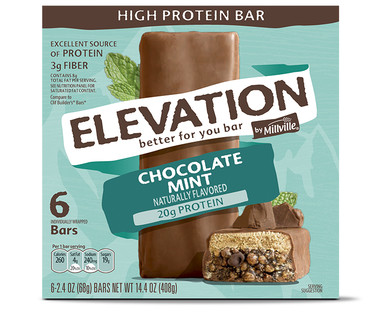 Elevation Chocolate Mint High Protein Bars