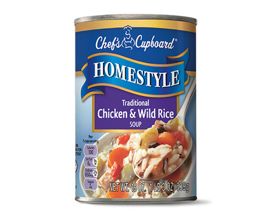 Chef's Cupboard Homestyle Soup - Traditional Chicken and Wild Rice Soup