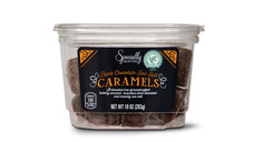 Specially Selected Dark Chocolate Covered Sea Salt Caramels. View Details.