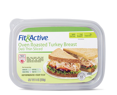 Fit and Active Oven Roasted Turkey Breast