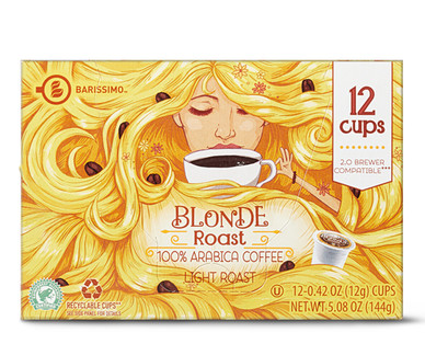 Barissimo Blonde Roast Coffee Cups