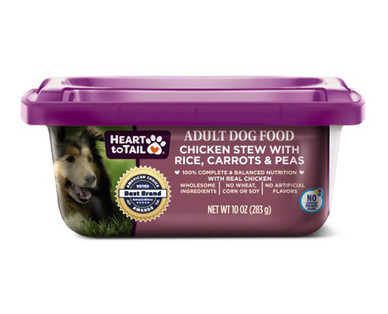 Heart to Tail Dog Food Tubs Chicken Stew