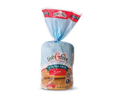 liveGfree Plain Bagels