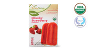 Simply Nature Organic Chunky Strawberry Fruit Bars