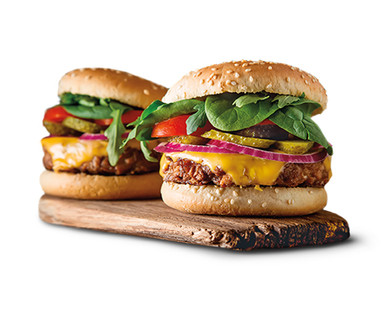 Earth Grown Organic Plant Based Meatless Burger View 1