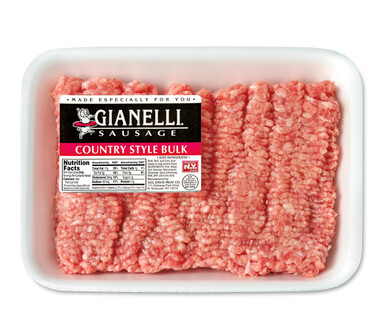 Gianelli Country Style Sausage