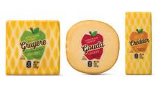 Happy Farms Preferred Apple Smoked Gruyere, Gouda or Cheddar
