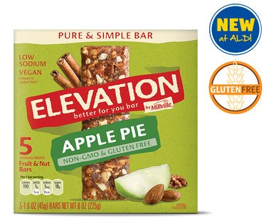 Elevation by Millville Apple Pie Pure & Simple Bars