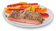 Fresh Atlantic Salmon with Mediterranean Herb. View Details.