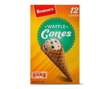 Benton's Jumbo Waffle Cones