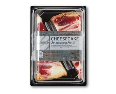 Belmont Cheesecake Twin Packs Strawberry Swirl