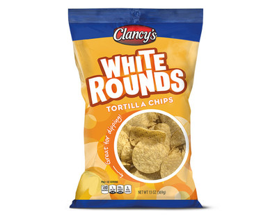 Clancy's White Round Tortilla Chips
