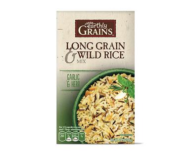 Earthly Grains Garlic & Herb Long Grain & Wild Rice