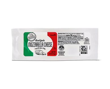 Emporium Selection Fresh Mozzarella Pre-Sliced Log