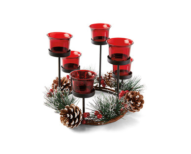 Huntington Home Harvest or Christmas Candleholders View 2