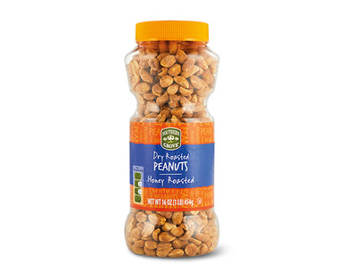 Southern Grove Honey Roasted Peanuts Dry Roasted