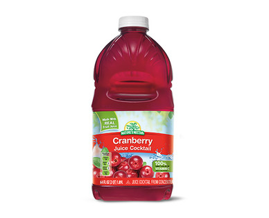 Nature's Nectar Cranberry Juice Cocktail