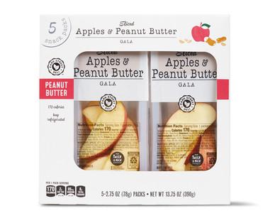 Park Street Deli Sliced Apples with Peanut Butter