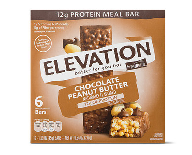Elevation Chocolate Peanut Butter Protein Meal Bar