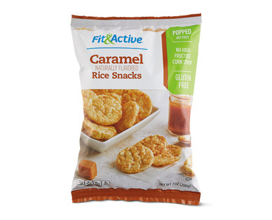 Fit & Active® Caramel Rice Snacks