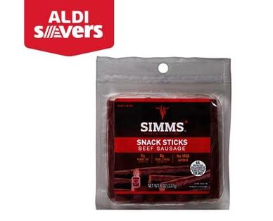 ALDI Savers Simms Beef Snack Sticks