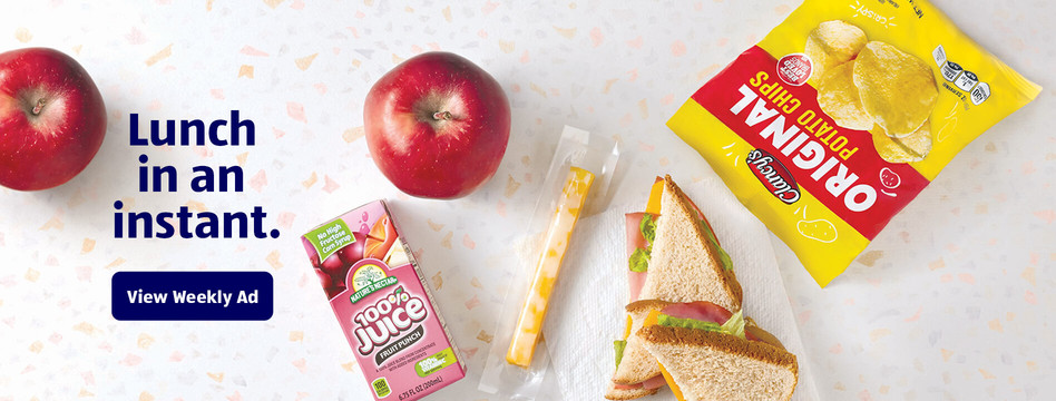 Lunch in an instant. View Weekly Ad.