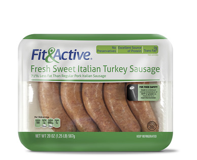 Fit and Active Sweet Italian Turkey Sausage