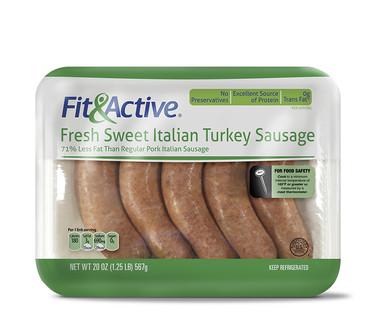 Fit & Active Sweet Italian Turkey Sausage