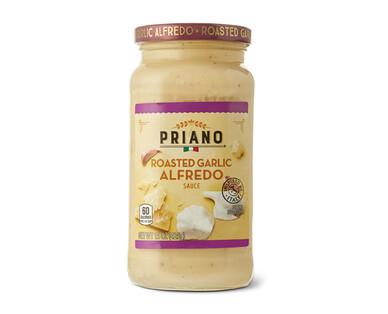 Priano Roasted Garlic Alfredo Sauce