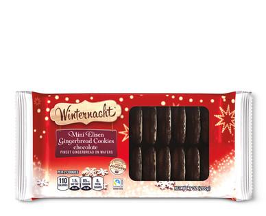 Winternacht Mini Elisen Gingerbread Cookies Chocolate