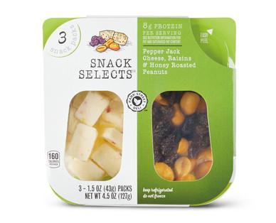 Park Street Deli Pepper Jack, Raisins, & Peanuts Snack Selects