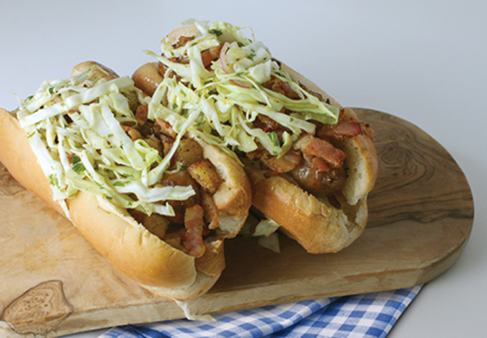 Loaded Bratwurst