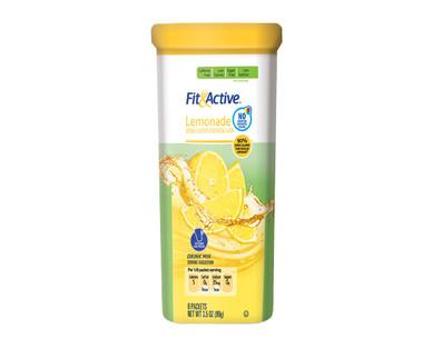 Fit & Active 12 Qt. Lemonade Drink Mix