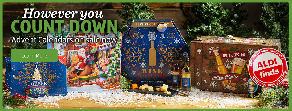 However you count down. Advent Calendars on sale now. Learn more.