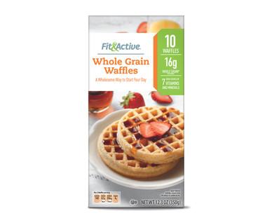 Fit & Active® Whole Grain Waffles