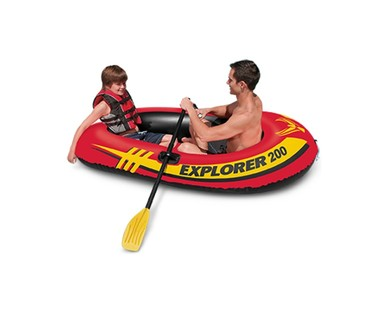 Intex Explorer 200 Boat Set View 1