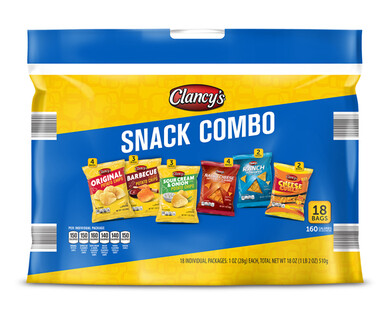 Clancy's Snack Combo - 18 ct