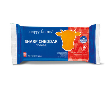 Happy Farms Sharp Cheddar Cheese