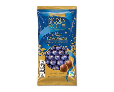 Moser Roth Creamy Chocolate Mini Chocolades