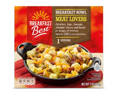 Breakfast Best Sausage & Gravy Meatlovers Breakfast Bowl