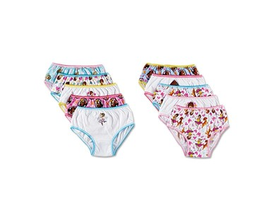 Boys' 8 Pack or Girls' 10 Pack Character Underwear View 5
