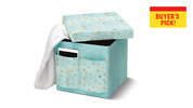 SOHL Furniture Life Concepts Foldable Storage Ottoman